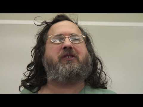Richard Stallman at UofC