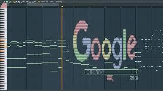 What Google Sounds like - MIDI Art