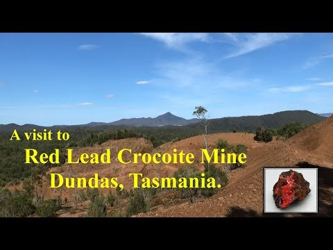 Red Lead Crocoite Mine