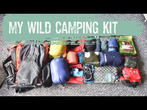 WHATS IN MY PACK   WILD CAMPING KIT UK   LIGHTWEIGHT BACKPACKING KIT