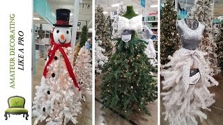 Get Inspired! Tour Hobby Lobby's & At Home's Christmas Decor 2016