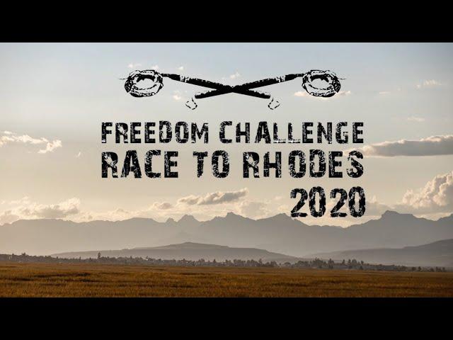 Race To Rhodes 2020 - A film by Llewellyn Lloyd
