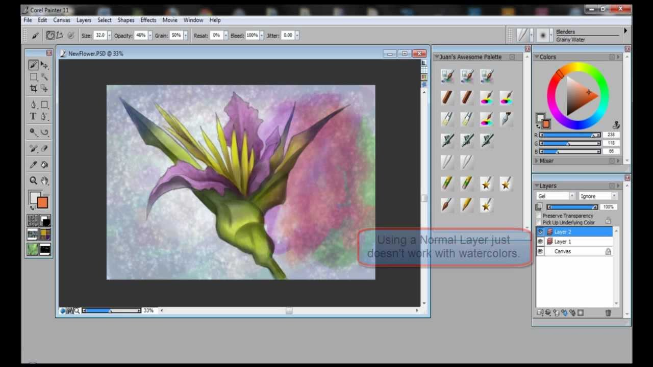 How To Paint Using Photoshop
