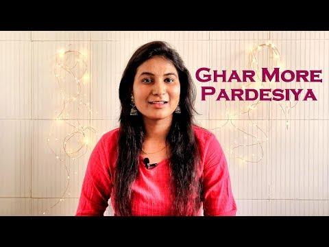 ghar-more-pardesiya-||-live-one-take-cover-||-kalank-||-shreya-ghoshal-&-vaishali-||-geeta-prajapati