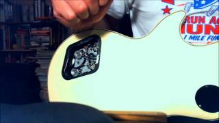 Noisy, scratchy knobs - How to clean guitar pots Les Paul and other guitars (EASY)