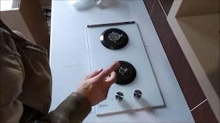 Самостоятельное подключение газовой плиты к баллону на даче. Шкаф для болона из сейфа.