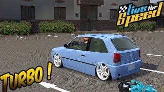 Gol G2 1.0 CHT Turbo - Live For Speed (Logitech G27)