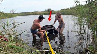 Я был В ШОКЕ ЧТО ЛЕЖАЛО в воде КЛАДБИЩЕ СОВЕТСКОЙ техники ПО НАВОДКЕ ДЕДА