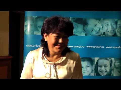 "Erzhana Budaeva, Director of the ""Society without barriers"", Republic of Buryatia"
