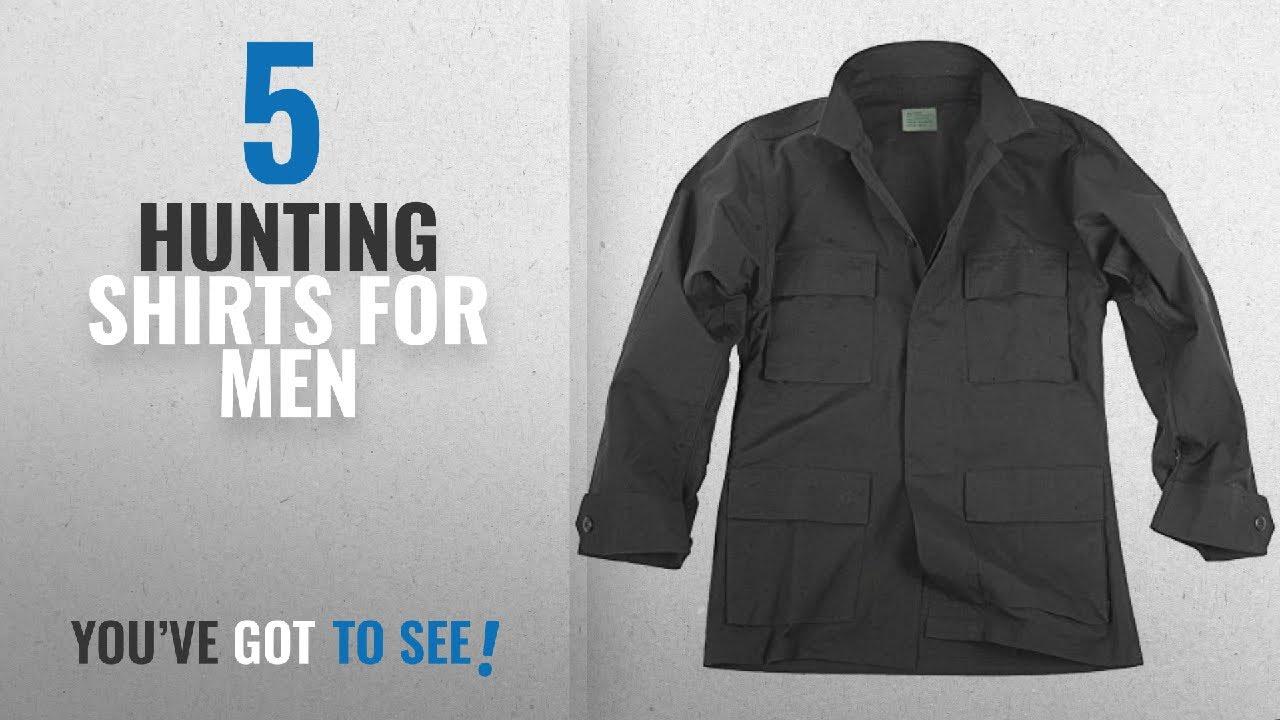 faf63d94f37f1 Top 10 Hunting Shirts For Men [2018]: Teesar Men's BDU Shirt Ripstop ...