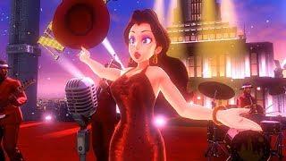 Super Mario Odyssey - Playthrough Part 6: Metro Kingdom / Pauline's Festival