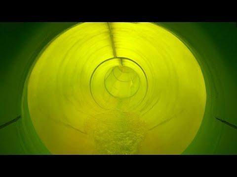 Turborutsche :: grüne Speed-Rutsche | Aqua Nova Borlänge