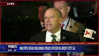 Jersey City Bloodbath: Officials Update Reporters