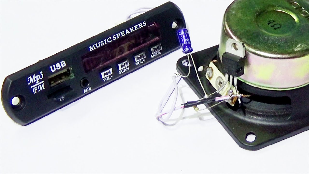 Simple Audio Amplifier Using Single Transistor Youtube T Preamplifier Circuit 2n3904 How To Make