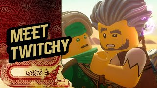 Ninjago Season 3 | Ninjas Meet Twitchy | The Island