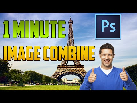 Photoshop CC - How to Add Another Image to an Image
