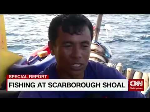 Fishing at Scarborough Shoal