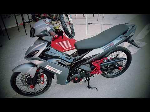 Yamaha Crypton X  uma 65 mm  Project by togelos.gr