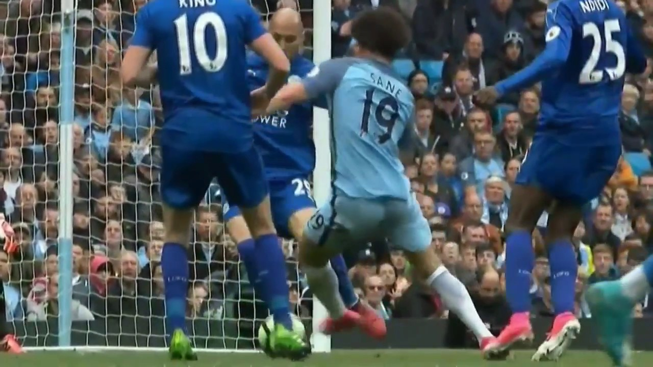 Manchester City Vs Leicester 2 1 All Goals Extended