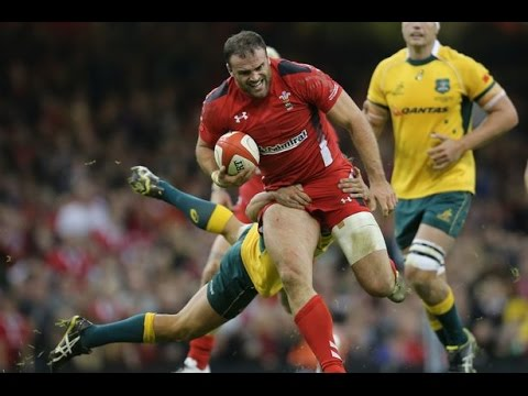 Wales vs Australia Six Nations first half 2014