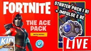 LIVE FORTNITE / NOUVELLE IMPULSION - STARTER PACK 3