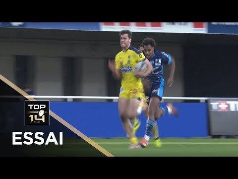 TOP 14 - Essai Damian PENAUD (ASM) - Montpellier - Clermont - J11 - Saison 2018/2019