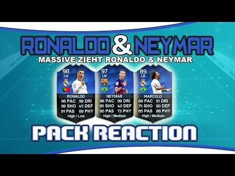 Pack Reaction | TOTY Ronaldo, Neymar & Marcelo | Team Of The Year Packopening 2016!