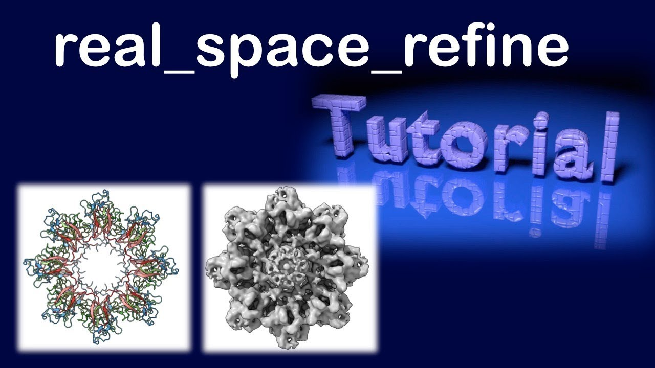 phenix real_space_refine: a tool for refinement a model