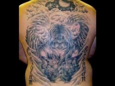 Tatuaze Anioły Aniołki I Inne