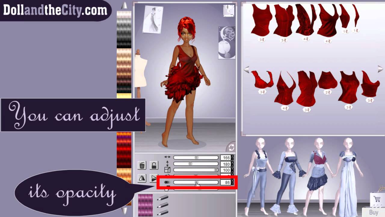 Become a Fashion Stylist on Doll and the City
