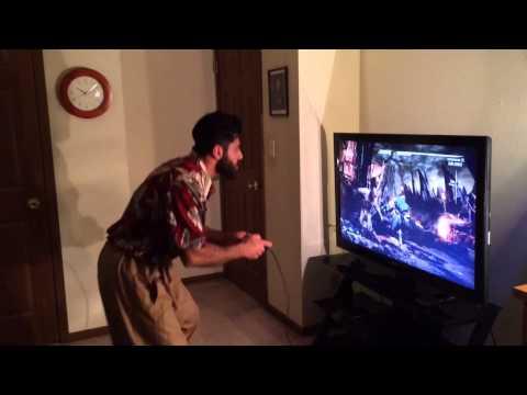 American people playing PlayStation v.s Kurdish People  یاری پلەیستەیشن ئەمریکی و کورد