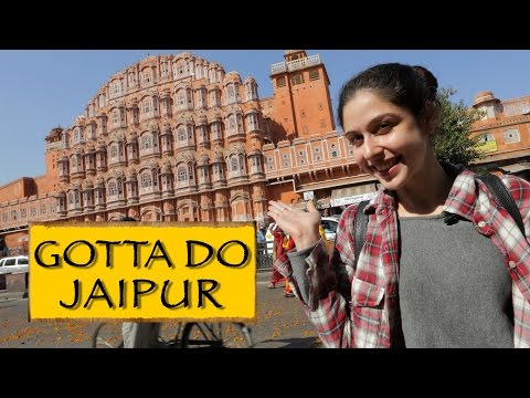 Welcome To Jaipur + Hawa Mahal