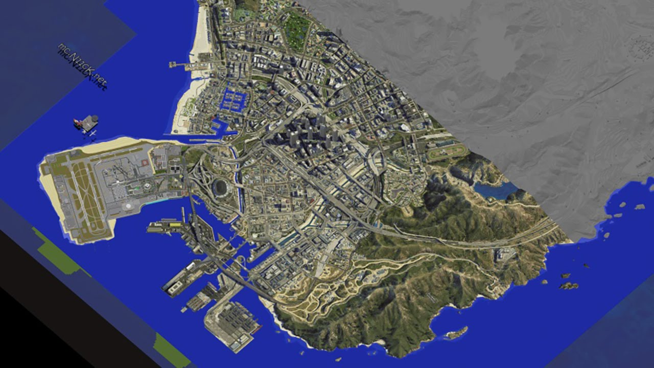 Gta 5 in minecraft 18 huge dynmap update youtube publicscrutiny Image collections