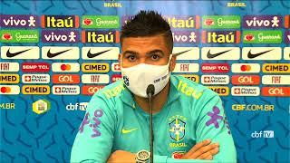 Copa América 2021: coletiva com Casemiro - 13/06/2021