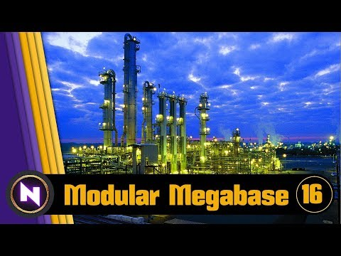 Factorio 016 Modular Megabase - E16 TIMELAPSE EXPANSION