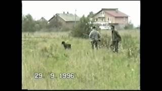 """Koło Łowieckie """"Diana"""" Mielec - Polowanie na kuropatwy 1996r"""