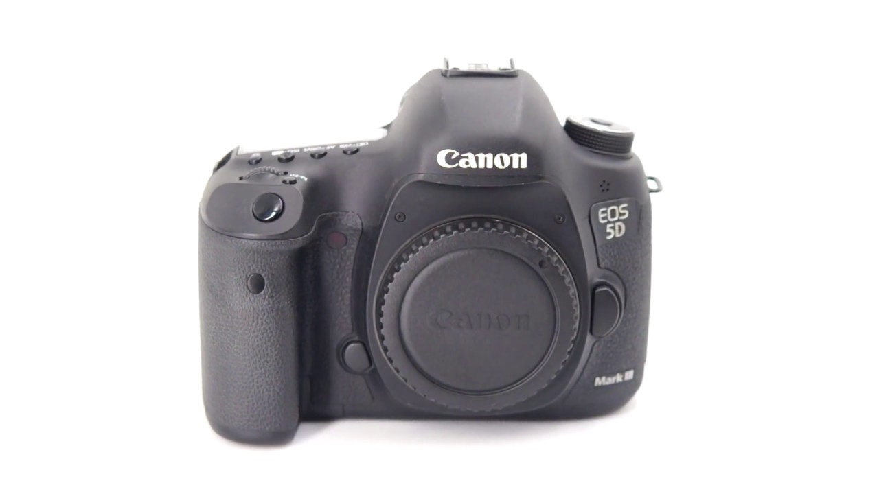 中古 Canon 5D3 5DIII 單機身 (二手1DX 5D4 5DS 5DSR 6D 6D2)#00032 - YouTube