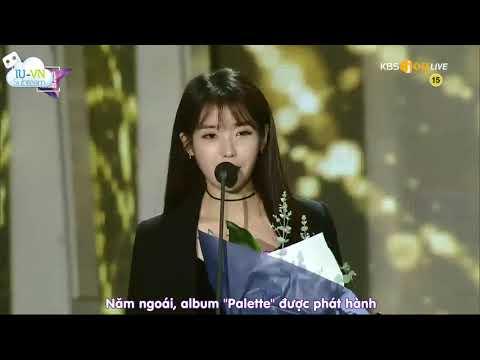 [VIETSUB] IU nhận giải thưởng album...