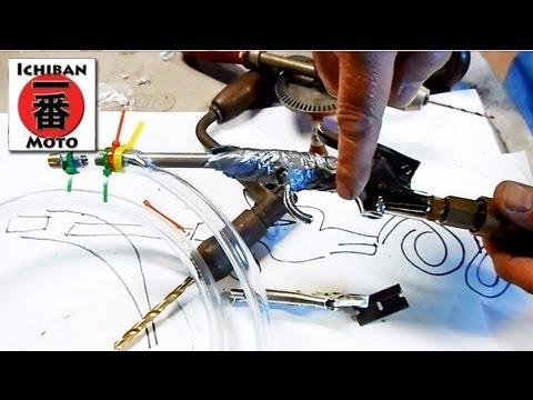 how to make a vapor blastor