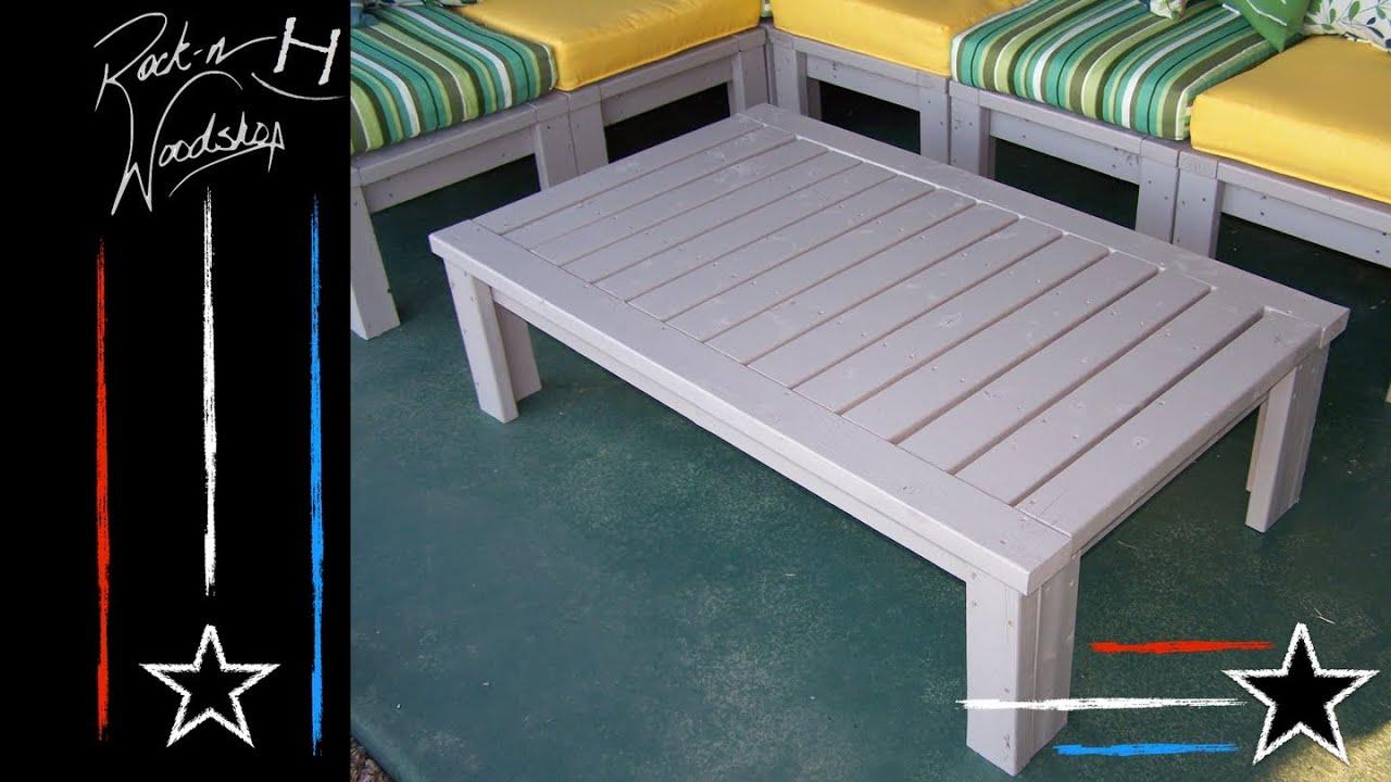 DIY 2x4 Coffee Table