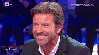 Conticini, splendido cinquantenne - La vita in diretta 11/11/2019