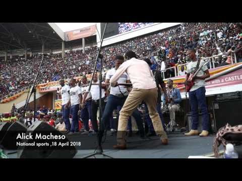 Alick Macheso live at National Sports Stadium .