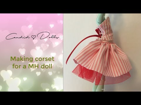 How To Make A Corsett For Monster High Doll