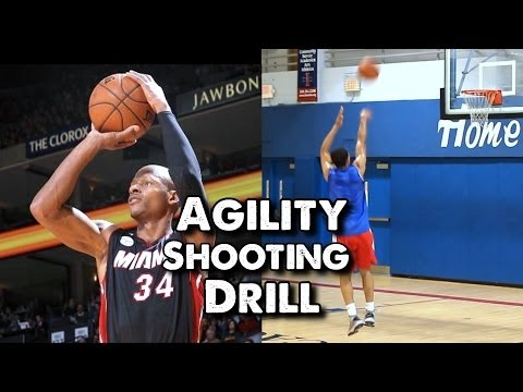 Agility Shooting Drill For Basketball: Trace The Lane