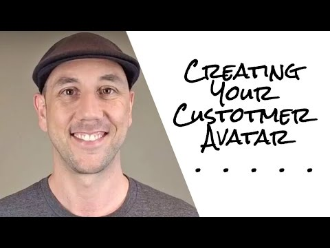 Creating Your Customer Avatar Part 1 of 3
