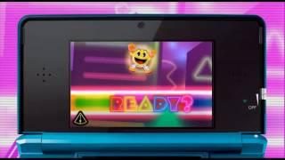 PAC-MAN & Galaga DIMENSIONS - N3DS - Pac-Man Tilt and Galaga 3D Impact