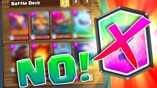 NO LEGENDARY DECK! • EVERYONE CAN USE THIS! • Clash Royale