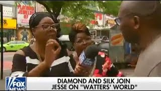 Diamond & Silk go to Harlem with a question.
