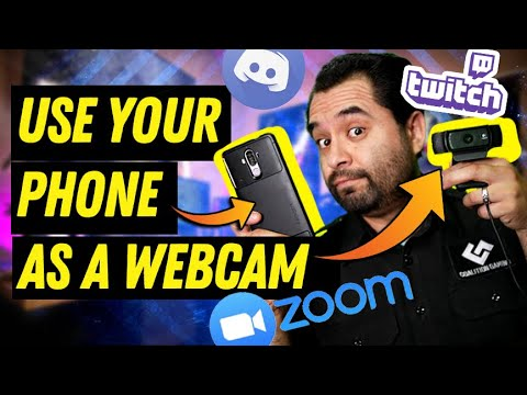 Your PHONE is an awesome WEBCAM!