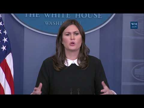 12/5/17: White House Press Briefing